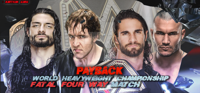 2015 WWE Payback - Fatal Four Way