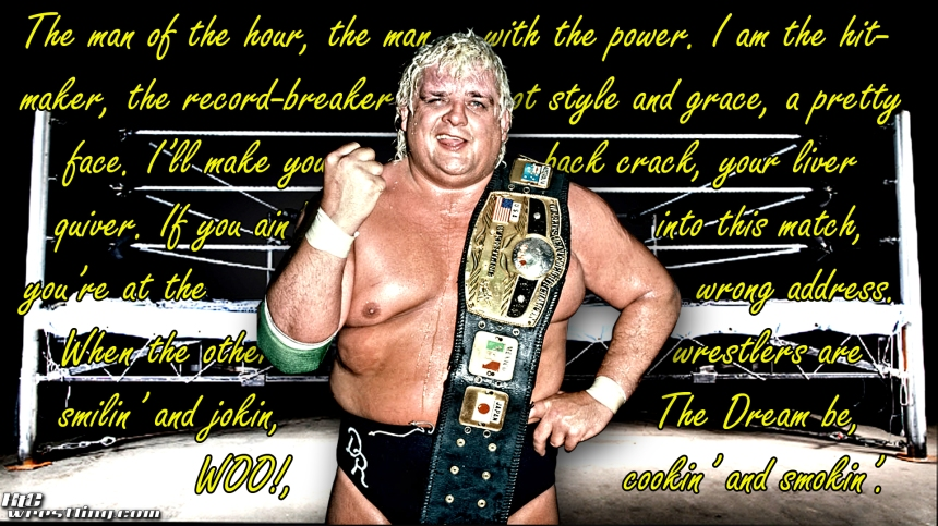 Dusty Rhodes Quote Wallpaper