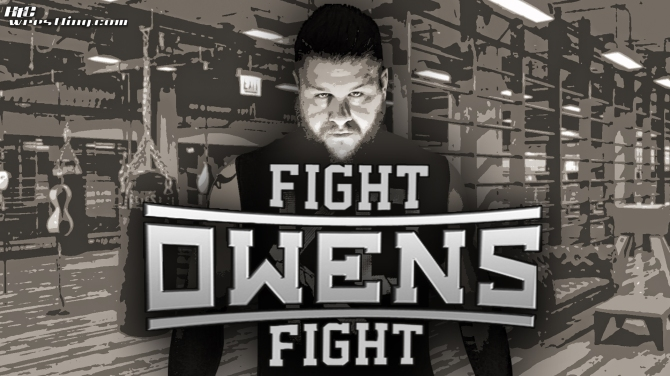 Kevin Owens - Fight Owens Fight Wallpaper