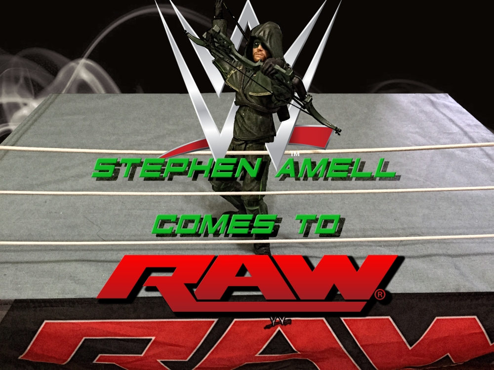 Amell on Raw