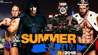Arrow and Neville vs Stardust and Barrett