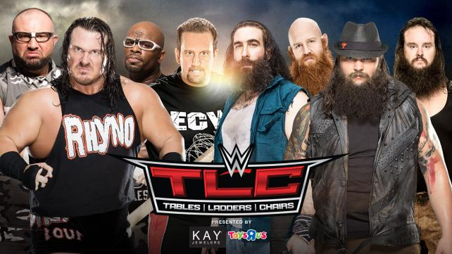 TLC - The Wyatt Family vs. The Dudley