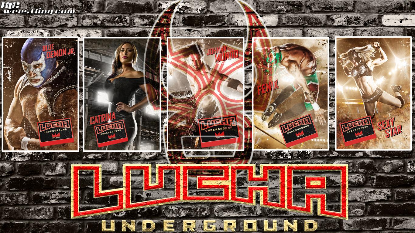 Wallpaper Of The Week: Lucha Underground Wallpaper