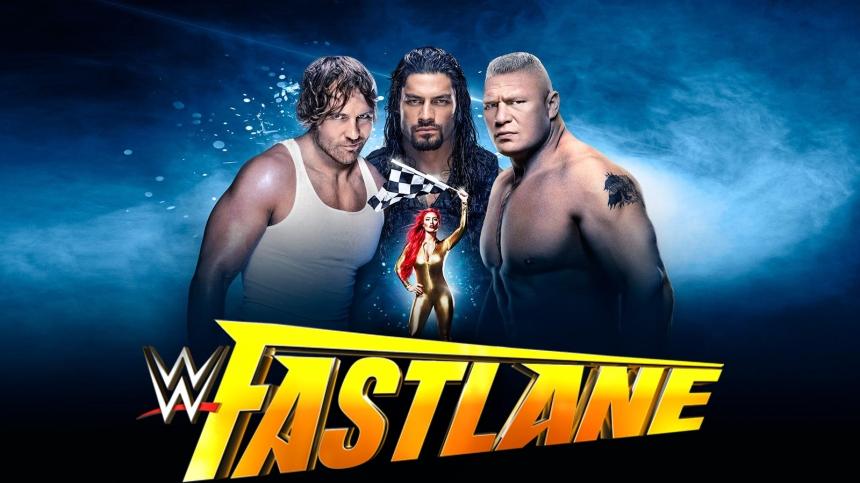 WWE Fastlane 2016 Header