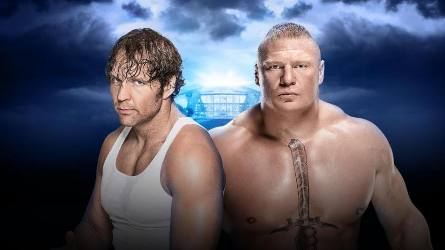 Ambrose/Lesnar Street Fight