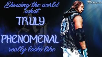 AJ Styles - Truly Phenomenal Wallpaper