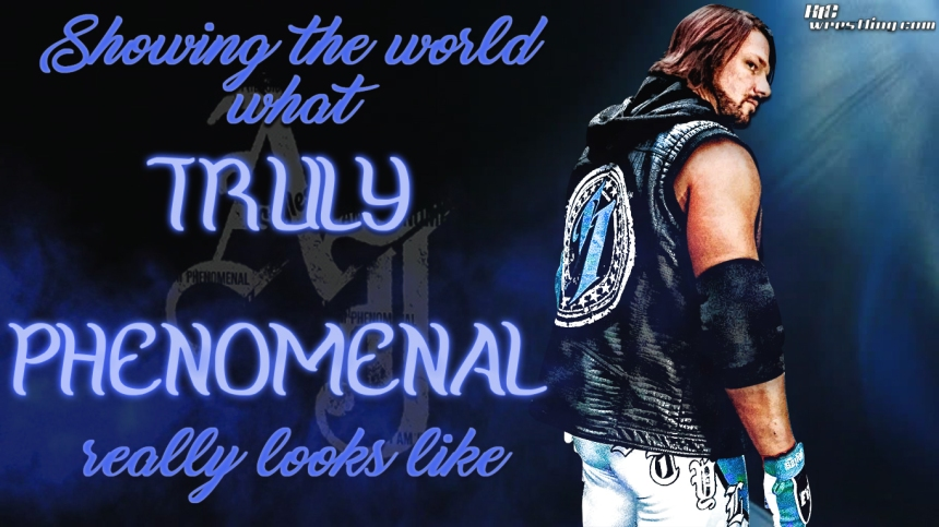 AJ Styles - Truly Phenomenal Wallpaper