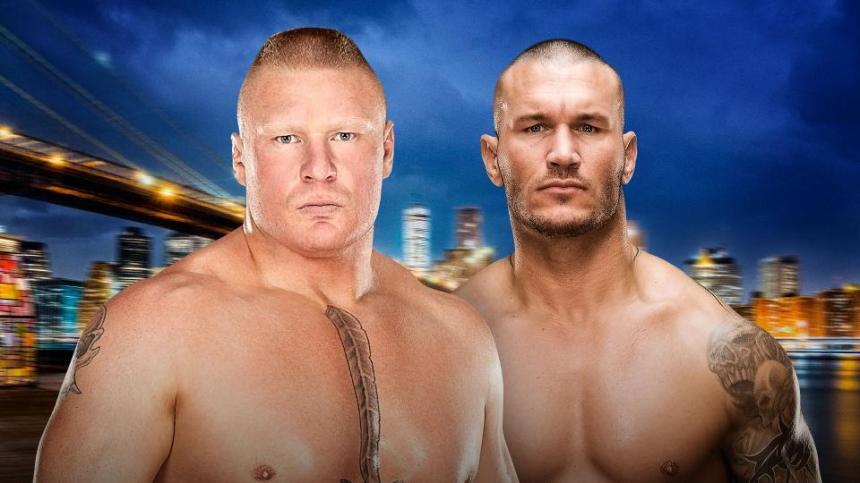 Lesnar/Orton SSlam